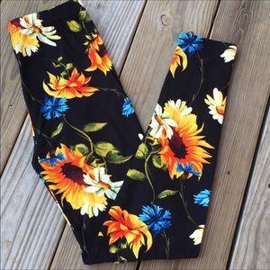 New sunflower legging